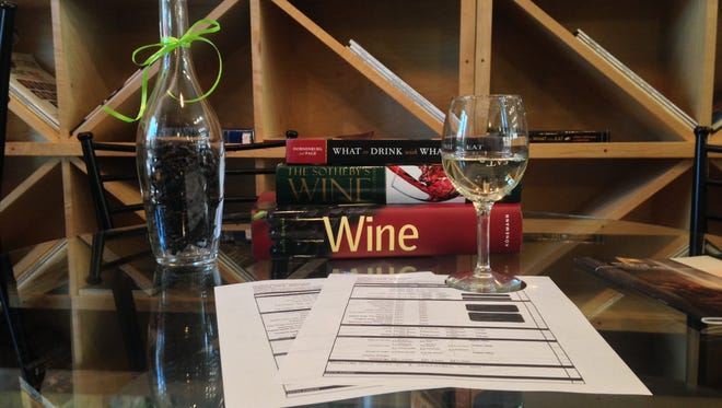 Somm Sessions at Aragon Wine Market offers a fun game that allows guests to play sommelier.