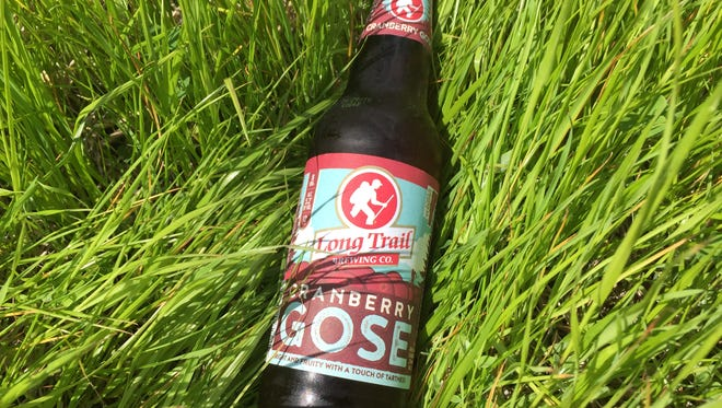 Long Trail's Cranberry Gose is a twist on the traditional sour beer style