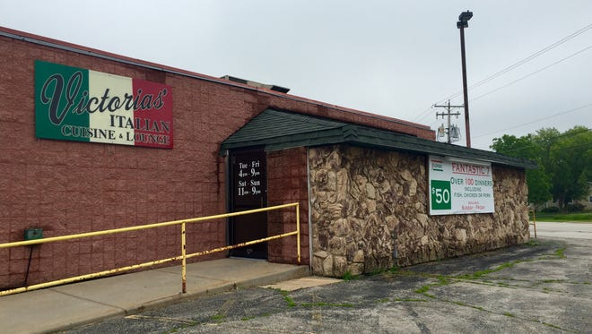 Victoria's Italian Cuisine, on Bay Settlement Road, closed in 2016.