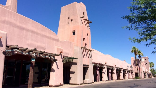 The long-vacant Papago Plaza at McDowell and Scottsdale roads in Scottsdale.
