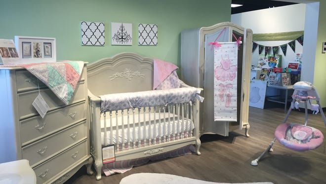 Tiny Toes Showroom specializes in high-end baby furniture.