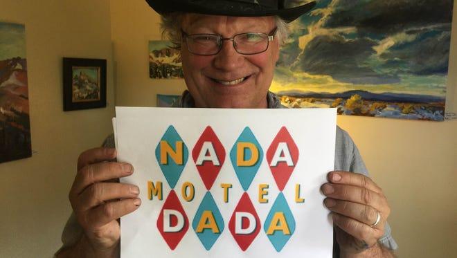 Erik Holland poses in his room for 2016 Nada Dada