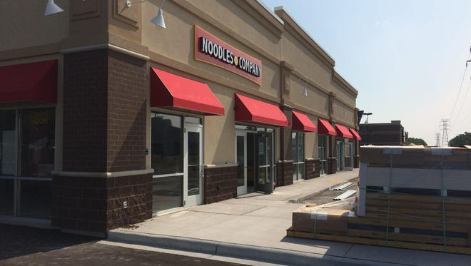 Noodles and Co., on the 1500 block of South Koeller, in Oshkosh. Noodles confirmed that it is planning a site in Fond du Lac in early 2017.