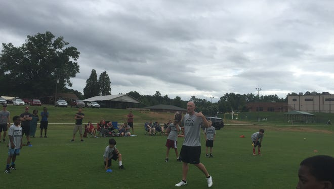 Connor Shaw talked about the Gamecocks, Spurrier and life in Greenville.