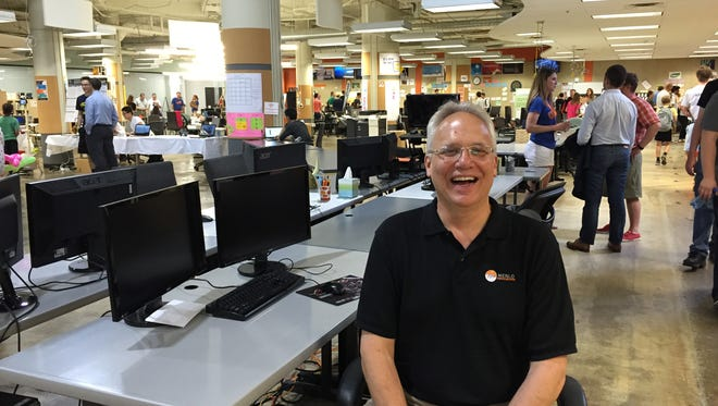 Rich Sheridan, CEO of Menlo Innovations, photographed during the June 17, 2016 Ann Arbor Tech Trek.