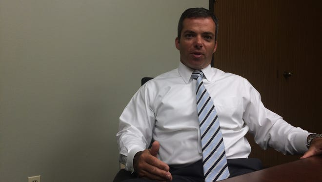 Sheriff-elect Mark Garber talks about the changes coming to the sheriff's office