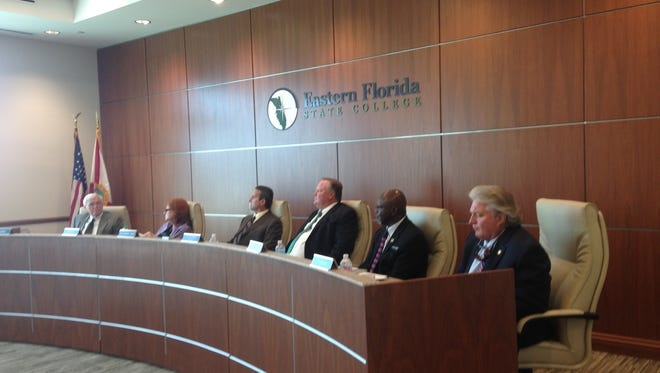 Board of trustees meeting at EFSC