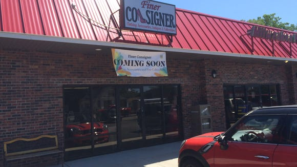 Finer Consigner is opening in the South Point Plaza, in the former location of Remix Kid's Consignments.