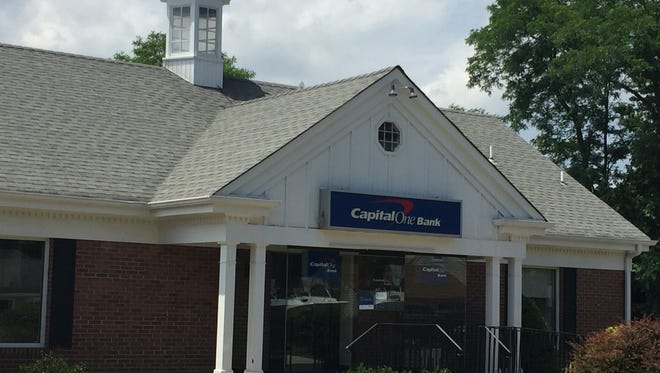 Capital One is closing this branch on Sea Girt Avenue in Wall.