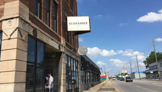 Neidhammer Coffee Co. and Ash & Elm Cider Co. are setting down roots in the redeveloping east side.