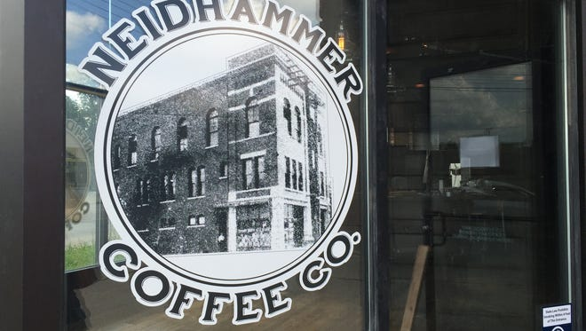 Neidhammer Coffee Co, which shares space with Ash & Elm Cider Co, will serve coffee, tea and small bites.