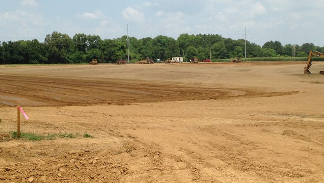 Construction has started on a new facility for Central Distributors off Highway 70, near Airport Industrial Park.
