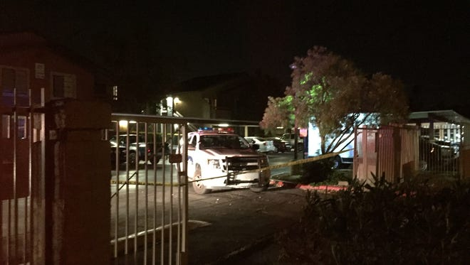 Phoenix police respond to a shooting call near 48th Street and Baseline Road.