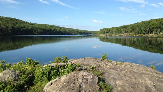 A new outdoor center at Harriman State Park's 64-acre Breakneck Pond will open to the public July 4.