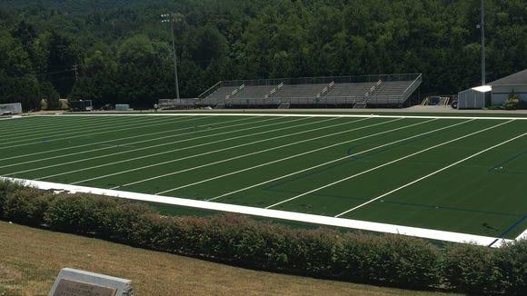 Hendersonville will install artificial turf on its football field.