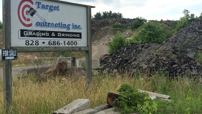 Target Contracting Inc. takes in tree and yard waste, as well as asphalt and concrete, and grinds it up for reuse.