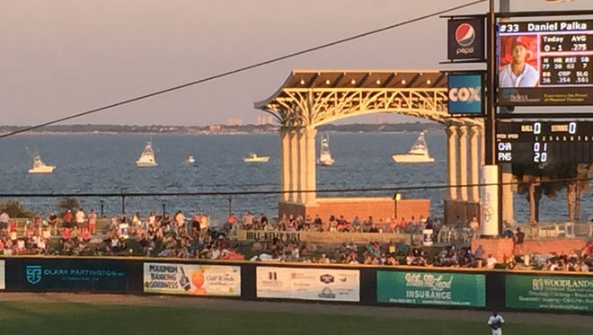 The location is part of why the Blue Wahoos have attracted more than 300,000 fans for five consecutive years.