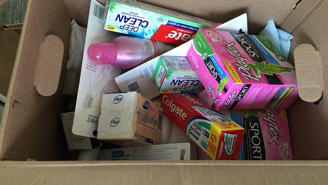 Personal care products such as toothpaste, soap and feminine hygiene items are needed for students in Wayne County schools.