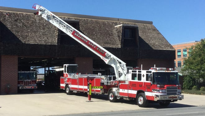 The Salinas Fire Department received a new ladder truck in 2016.