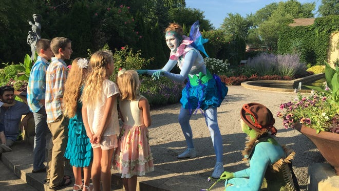 "Fairies will greet children after  ""A Midsummer Night's Dream"" at the Paine Art Center and Gardens."
