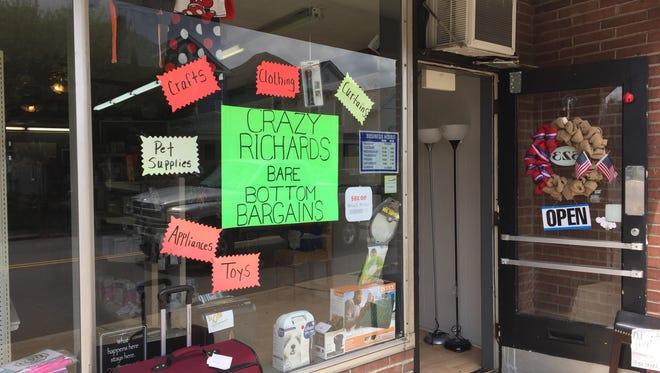Crazy Richards Bare Bottom Bargains opened in April at 523 N. High St. in Lancaster.