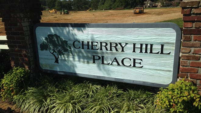 Grading work continues for a new development at the corner of McClellan Road and Shadowridge in Cherry Hill Place.