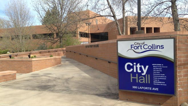 Fort Collins City Hall at 300 Laporte Ave.