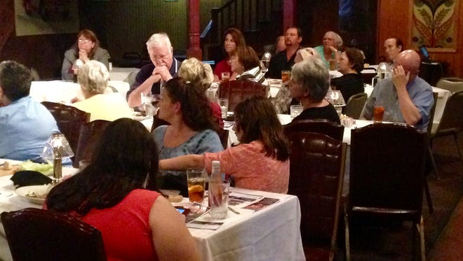 The Jackson Area Business & Professional Women hosted the area's first state candidate forum Monday night.