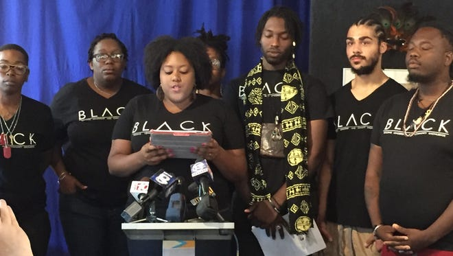 The organizers behind the B.L.A.C.K. group in Rochester held a press conference on Wednesday, July 13, morning.