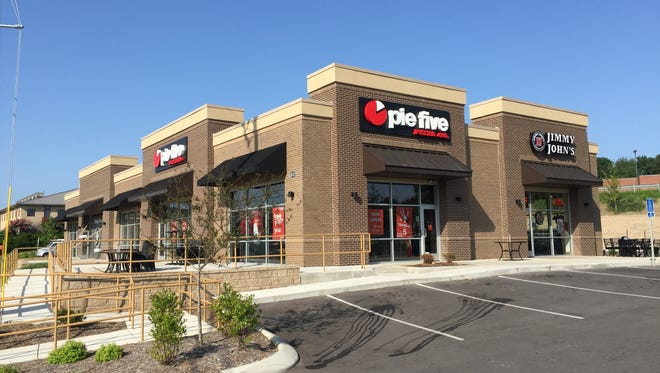 Johnny John's and Pie Five Pizza are among tenants at 810 Gale Lane.