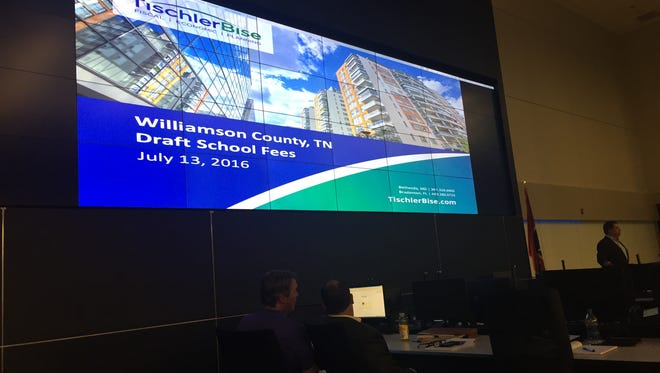 A proposed fee on new houses could help fund the construction of new Williamson County schools.