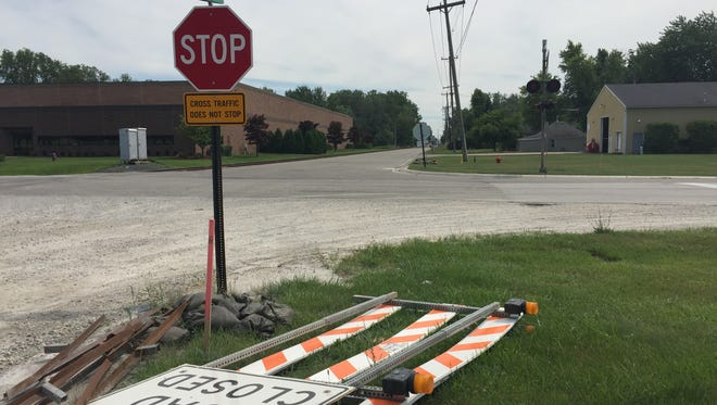 Dove Road between 32nd Street and Michigan Road in Port Huron Township is expected to close for two weeks when crews begin pulverizing its concrete before laying asphalt. The project has to be completed before the school year starts.