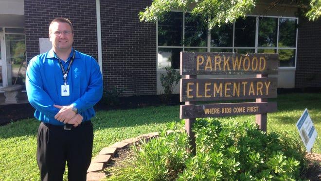 Parkwood Principal Brandon Winebrenner