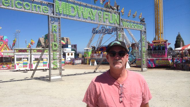 Harry Mason, CEO of Brass Ring Amusements, has spent 41 years in the carnival business.