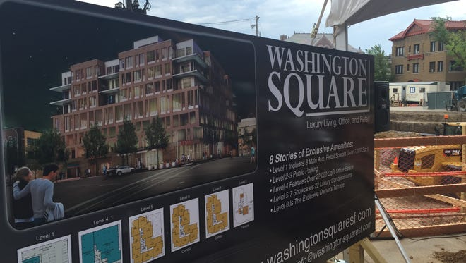 Washington Square broke ground July 20 in downtown Sioux Falls.
