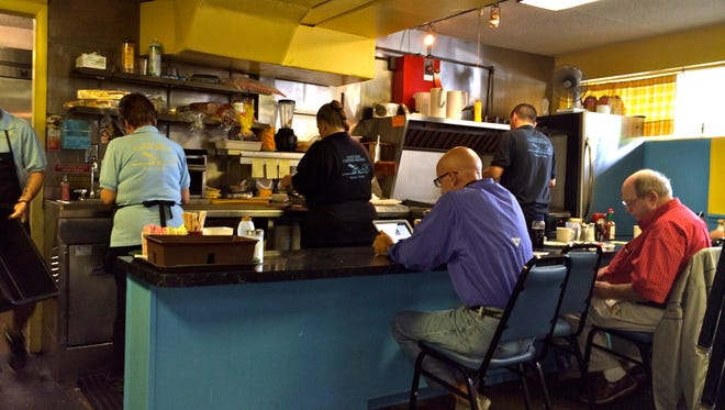 This fun little diner, with only about 30 seats and six counter stools,  is the unofficial heart of Naples for locals.