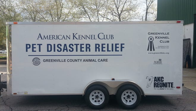 Greenville Animal Care to get disaster relief trailer