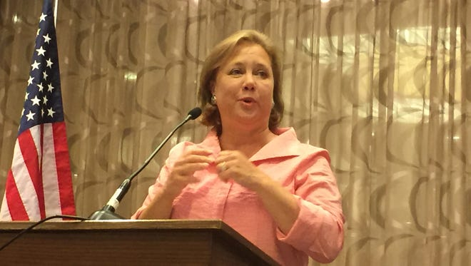 Former Sen. Mary Landrieu, D-La., urged Bernie Sanders' delegates at the Democratic National Convention Tuesday to united behind Hillary Clinton.