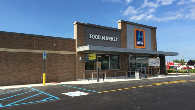 ALDI will reopen after it completes a renovation and expansion on Thursday, July 28, 2016.