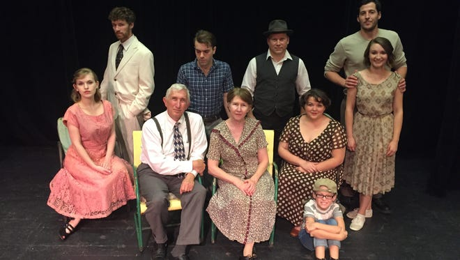 """The cast at the Haywood Arts Regional Theatre is excited to present the World War II-era Arthur Miller drama """"All My Sons."""""""