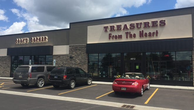 Treasures of the Heart has opened at 4812 S. Louise Ave.