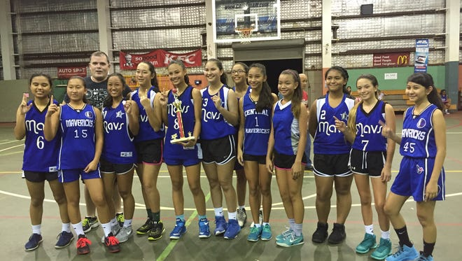 This 2016 file photo shows the Under-15 GYBA championLady Mavericks.