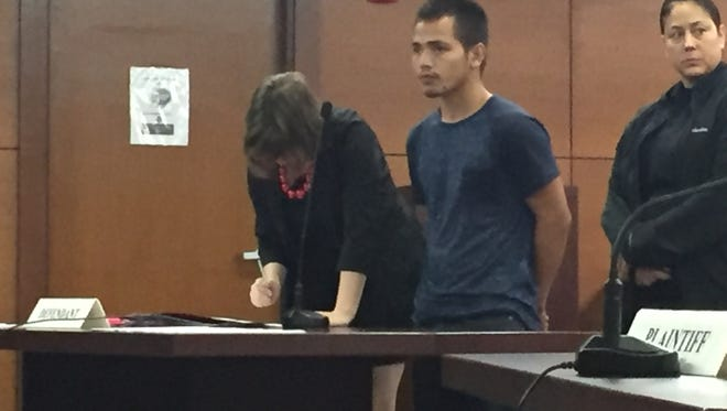 Eddie John Tedtaotao Camacho, 23, pleaded not guilty Wednesday at the Superior Court of Guam to charges that included manslaughter and vehicular homicide. Those charges stem from a June 2 incident in which Camacho allegedly struck a bicyclist with his car while driving on Route 1 near the Micronesia Mall.