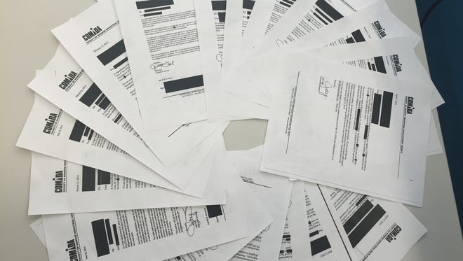 Redacted documents provided by the County of Monroe Industrial Development Agency.
