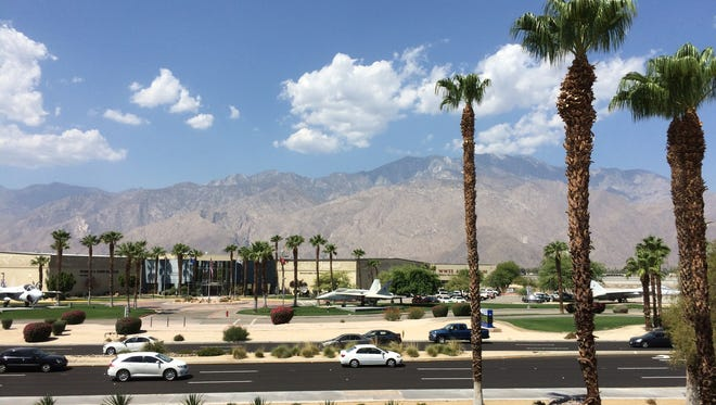 The Coachella Valley is looking at a weekend that is warm, but not too hot or humid, according to The National Weather Service.
