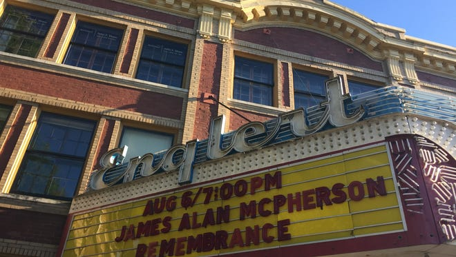 The Englert Theatre in Iowa City on August 6, 2016.