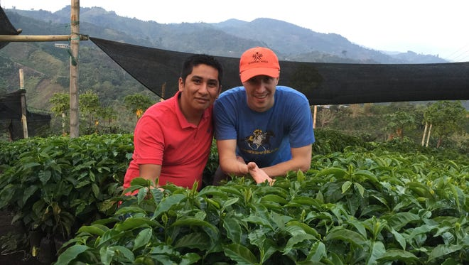 Good Folks Coffee owner Matt Argo traveled to Pitalito, Colombia, in 2016 to visit a cutting-edge farmer, Rodrigo Sanchez.