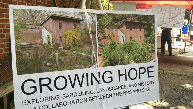 Growing Hope, a pilot program with the National Park Service and Student Conservation Association, taught gardening and history to teens.