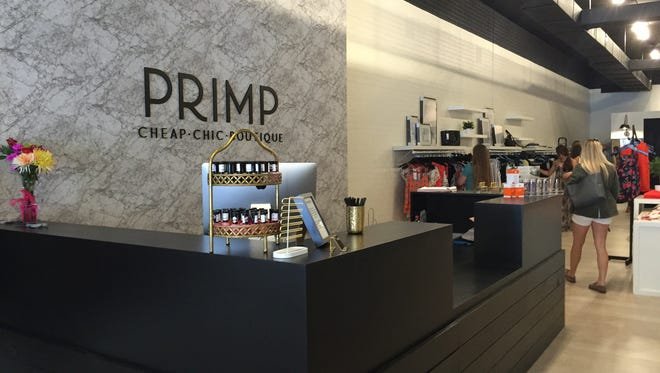Primp has opened at 204 S. Phillips Ave.