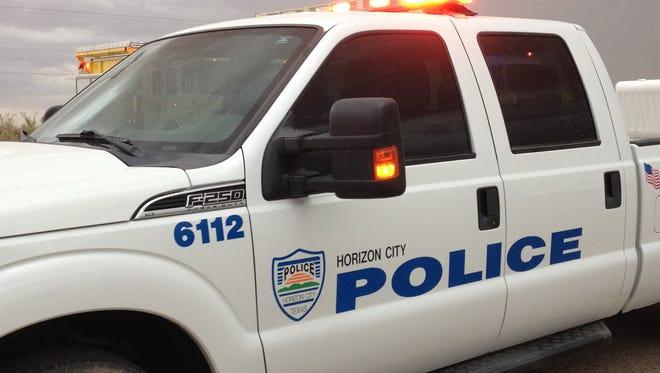Horizon City Police Department truck